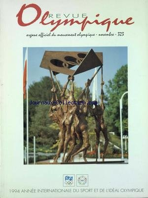 REVUE OLYMPIQUE [No 323] du 01/11/1994