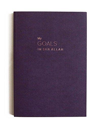 Meine Ziele in schā 'a llāh Luxe Notebook A5perfekt gebundenes Hot folierter, Islamische Stationery, JOTTER