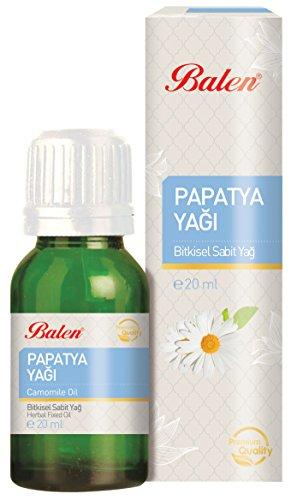 Balen Gänseblümchenöl 20 ml: biologisches Produkt für eine festigende Hautpflege; ohne künstliche Zusätze