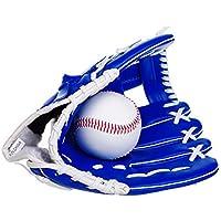 WHYAMA Guantes de béisbol Espesar Infield Lanzador Guantes de béisbol Los Mejores Guantes de hemisferio, Guantes de béisbol izquierdos Azules