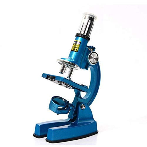 WYJ Microscopio Óptico HD Duradero Niños Y Estudiantes