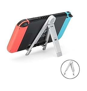 iVAPO Support pour Nintendo Switch en Métal Station Nintendo Switch Support Universel Multi Angle pour Nintendo Switch, Jeu Vidéo,Tablette, iPhone, Samsung Smartphone