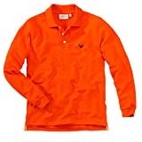 wellyou Polo - Shirt langarm orange Mädchen