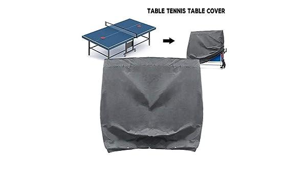 Protezione UV Copertura Antipolvere a Prova dumidit/à Impermeabile Tutte Le Stagioni Universale Copertura Ping Pong Interno//Estern PoeticHouse Copertura per Tavolo da Ping Pong