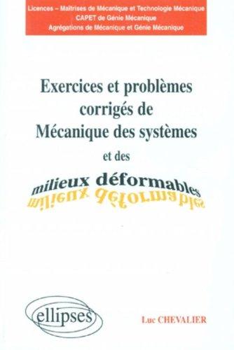 Exercices et problèmes corrigés de