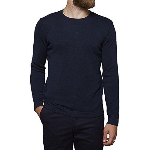 SUIT Herren Pullover Blau (Navy Blue 3090)