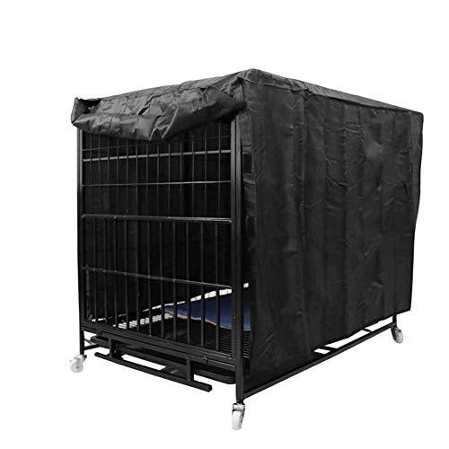 STTC Hundekäfigabdeckung, 210D Oxford Tuch Staubdicht Winddicht wasserdicht universell passend für Drahthundenkäfig für den Innen- und Außenbereich,24in