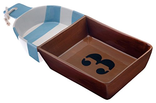 boston-internazionale-buoy-ahoy-ceramic-chip-and-dip-divided-tray-brown-by-boston-internazionale