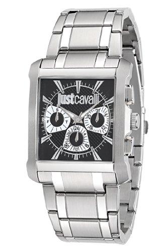 Just Cavalli Men's Quartz Watch R7253119003 with Metal Strap