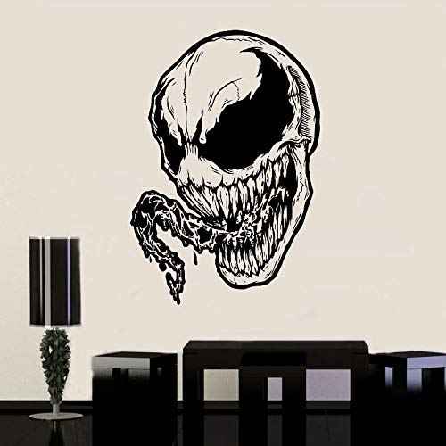 zqyjhkou Venom Wandtattoo Venom Vinyl Aufkleber Mavel s Superhero Wandkunst Animated Poster Jungen Room Decals Wandbilder Geschenk Sp31 M 42x61cm