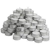 Velas Glimma de Ikea, color blanco, 200 unidades