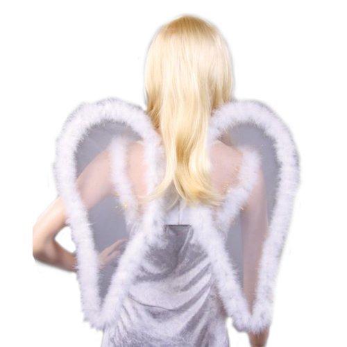 Imagen 1 de Alas de ángel, transparentes, cerca de 53 cm,
