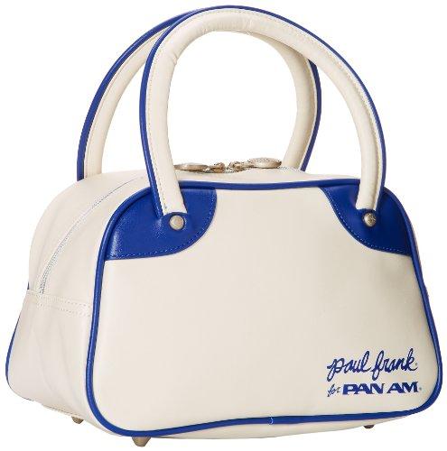 Pan Am Maschi Mini Explorer 100% poliuretano Borse Bianco
