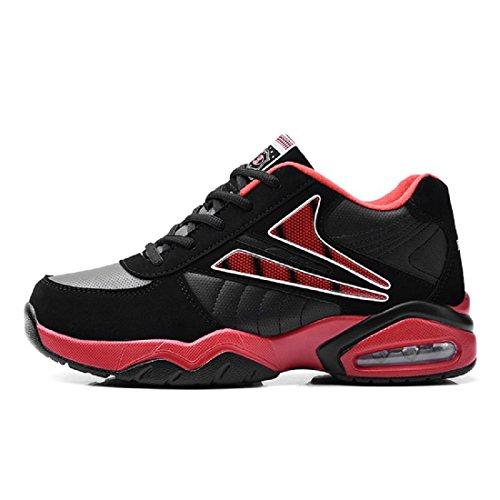 sportive Aumenta da euro Tenere le pallacanestro Scarpe Spessore Scarpe formatori caldo da inferiore Antiscivolo red Scarpe corsa 48 traspirante 36 DIMENSIONE scarpe Uomo POWtqwZnSw