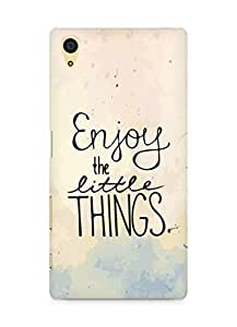 AMEZ enjoy the little things Back Cover For Sony Xperia Z5