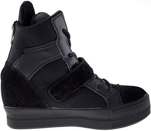 C2 Velcro Para Maxstar C2 1 Sapatilhas preta Altas Superiores Altas fitas t8w65w
