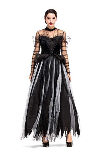 airy Tale Black Swan Halloween Cosplay Fancy Dress Costume ()
