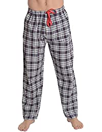 El Búho Nocturno - Bas de Pyjama Hommes Longues à Rayures ou à Carreaux  17941ffb9a3