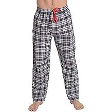 El Búho Nocturno - Bas de Pyjama Hommes Longues à Rayures ou à Carreaux    Pantalons dbf2183cd69e
