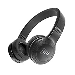 JBL E45BT Wireless On-Ear Headphones (Black)