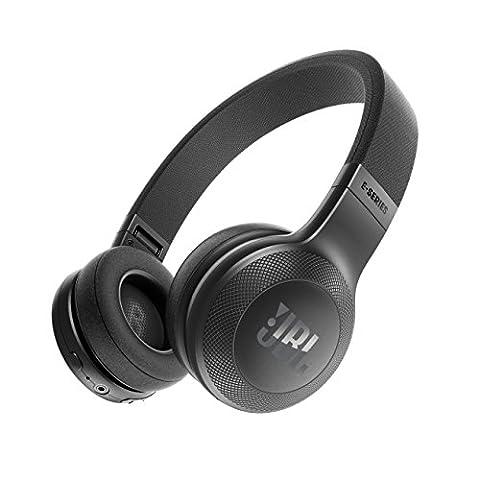 JBL E45BT On-Ear Ohraufliegender Bluetooth Kopfhörer Faltbar Inkl. Abnehmbares Verwicklungsfreies
