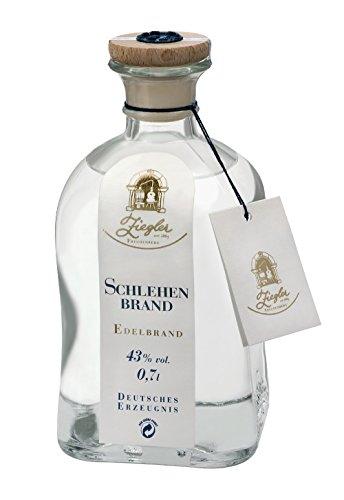 Ziegler Obstbrand Schlehenbrand Obstler 43 {6190926cc3ad65d6873744adf42295f0b71729f6e3f188df8224af7fade15b24} 0,7l Flasche