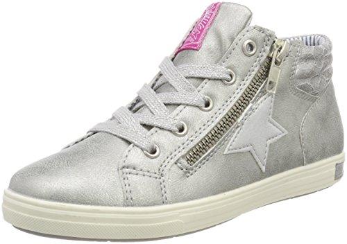 Indigo Mädchen 352 013 Hohe Sneaker, Silber (Silver), 37 EU