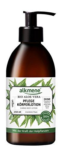 alkmene Pflege Körperlotion mit Bio Aloe Vera, Bodylotion, für normale bis trockene Haut, 250 ml - 2er Pack (2 x 250 ml)