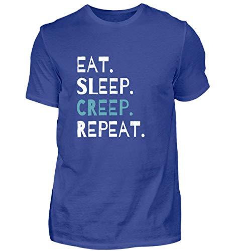 Eat Sleep Creep Repeat - An Halloween Das Wahre Gruselige schreckliche Ich Zeigen - Herren Shirt