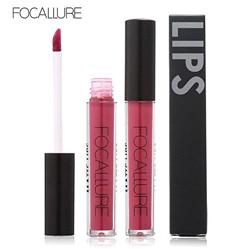 Siswong Mode liquide rouge à lèvres hydratant rouge à lèvres longue durée imperméable à lèvres maquillage cosmétique beauté (E)
