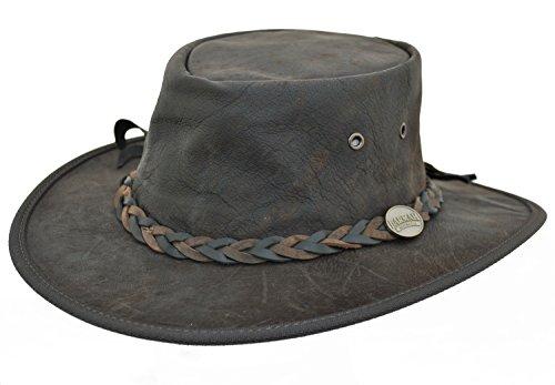 Barmah - Sombrero plegable blando de canguro,...