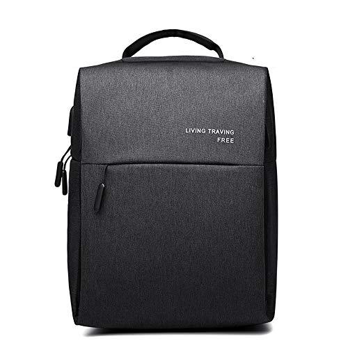 (HYKJ Business Laptop Rucksack mit USB-Ladeanschluss und Kopfhöreranschluss, wasserabweisendes Gewebe, geeignet für 39,6 cm (15,6 Zoll) Computer-Rucksäcke)