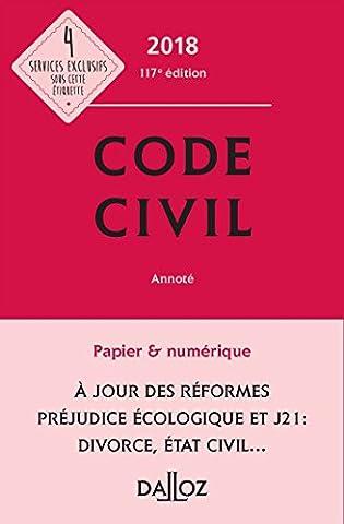 Code civil 2018, annoté - 117e