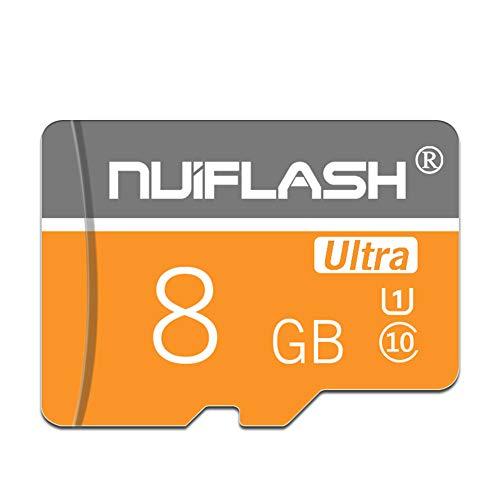 QKa Class 10 MicroSDHC Ultra Android-Speicherkarte für Dashcam/Smartwatch/Telefon/Tablet/Go Pro (4 GB / 8 GB / 16 GB / 32 GB / 64 GB / 128 GB),8GB