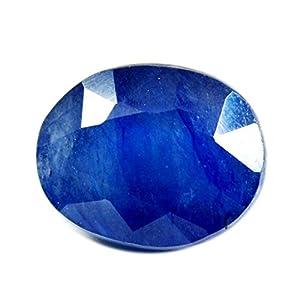 55Karat echtem Saphir Blau Stein 5Karat Original natur oval Lose Edelstein
