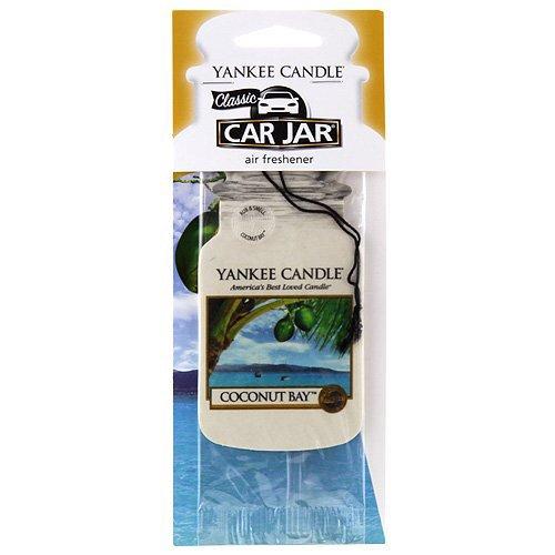 uss Bucht Auto & Haus Lufterfrischer Car Jar Karton, Plastik, weiß 7.6 x 19.7 x 0.7 cm ()