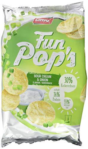 Lorenz Snack World FunPop's Sour Cream und Onion, 12er Pack (12 x 85 g) (Cream Chips Onion Sour)