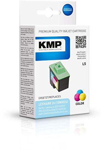 Preisvergleich Produktbild KMP Tintenkartusche für Lexmark X72/X74, L5, color