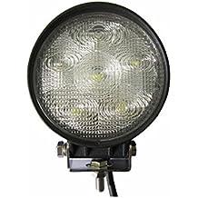 Foco LED Redondo Tractores, Barcos, Maquinaria industrial 12 y 24 Voltios 18W