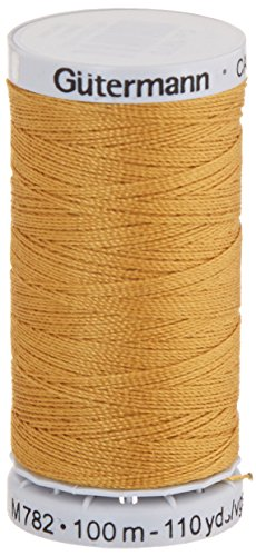 Gutermann Jeans Thread 100 Yards-Gold