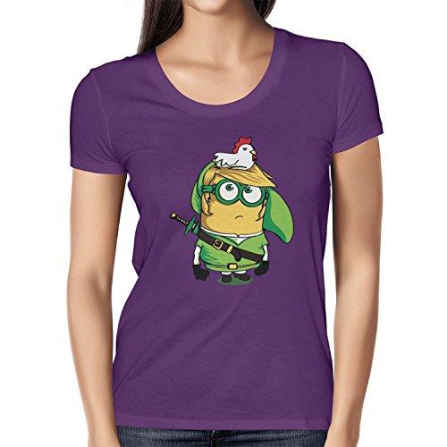 TEXLAB - Banana Link - Damen T-Shirt Violett