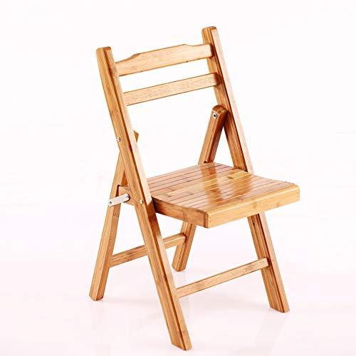 Voolok Multifunktions-Ergonomie Massivholz Klappstuhl, stabil und langlebig, platzsparend, leicht zu reinigen, für Schlafzimmer Büros Wartezimmer Parteien -