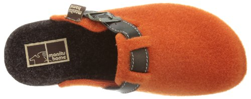 Manitu Home 330104, Chaussons femme Orange  - Orange (orange 62)