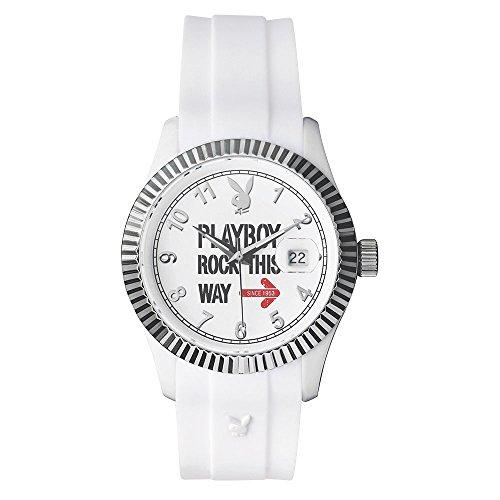 playboy-usa38ww-reloj-analogico-de-cuarzo-unisex-correa-de-silicona-color-blanco
