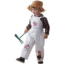 Disfraz granjero niño - Único, 3 a 5 años