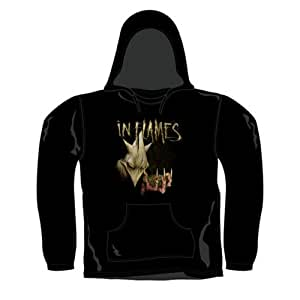 In Flames - Pull-over à Capuche Labyrinth (in S)