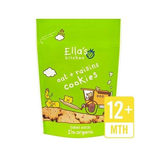 Cuisine Avoine Et Raisins Secs Biscuits De 80G De Ella