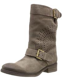 Desigual Boots  Sacha - Botas Militares de cuero mujer