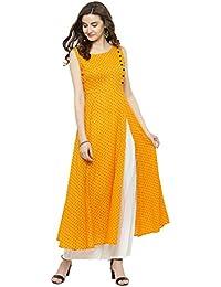 cb7b7741f963d Amazon.in  Sleeveless - Salwar Suits   Ethnic Wear  Clothing ...