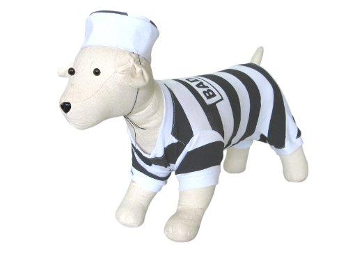 ad Dog Gefangene Kostüm, Mittel (Gefangener Hund Kostüme)